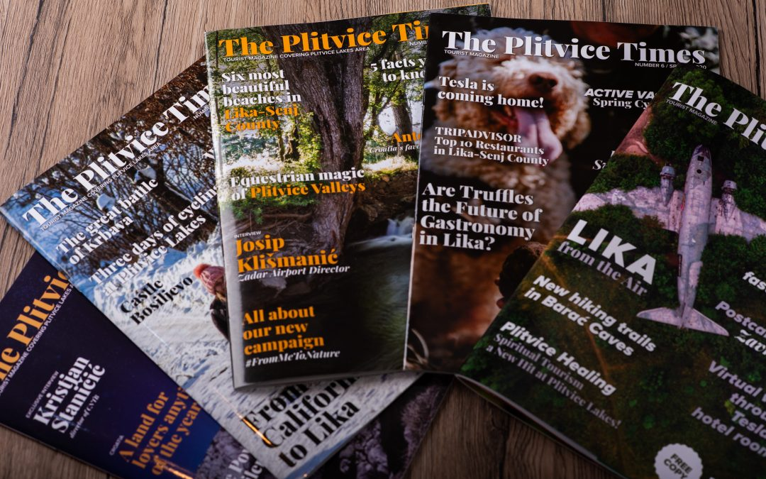 OBJAVA ZA MEDIJE: U portfelju Prilika Grupe sada je i poznati turistički magazin s Plitvica
