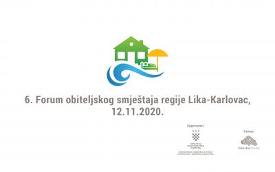 Partnerstvo u organizaciji 6. regionalnog Foruma obiteljskog smještaja regija Lika – Karlovac