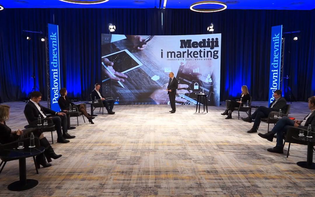 Ante Fumić nastupio na panelu Poslovnog dnevnika o medijima i marketingu 2021.