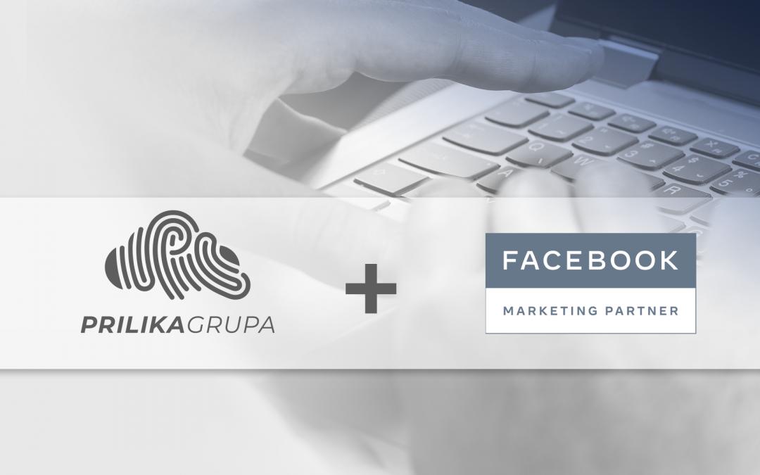 Prilika Grupa je izlistana kao Facebook Marketing Partner