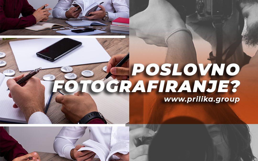 Poslovno fotografiranje za tvrtke, nova usluga u portfelju
