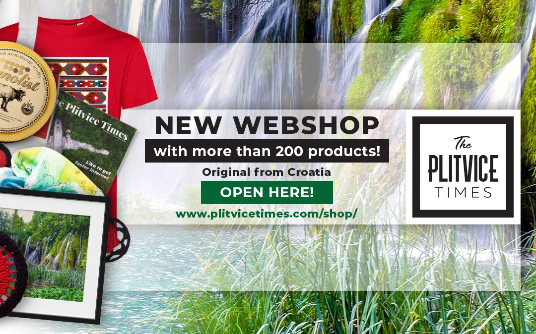 PLITVICE SHOP – ENGLISH / Can`t come to Croatia this summer? No problem!