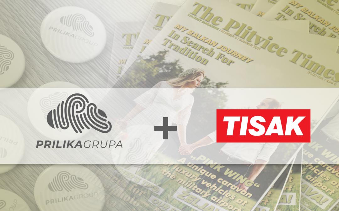 TISAK Plus d.o.o. i Prilika Grupa otvaraju novu suradnju