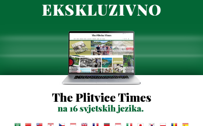 The Plitvice Times od danas se prevodi na 16 svjetskih jezika