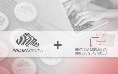 Prilika Grupa je novi član Hrvatske udruge za odnose s javnošću – HUOJ-a